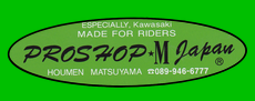 kawasaki proshop M japan